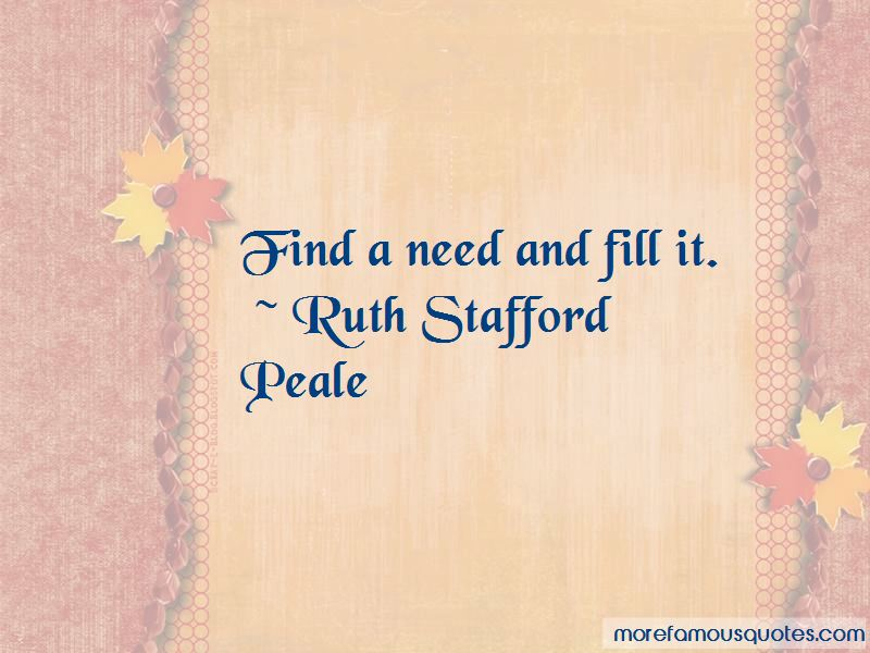 Ruth Stafford Peale Quotes Pictures 2