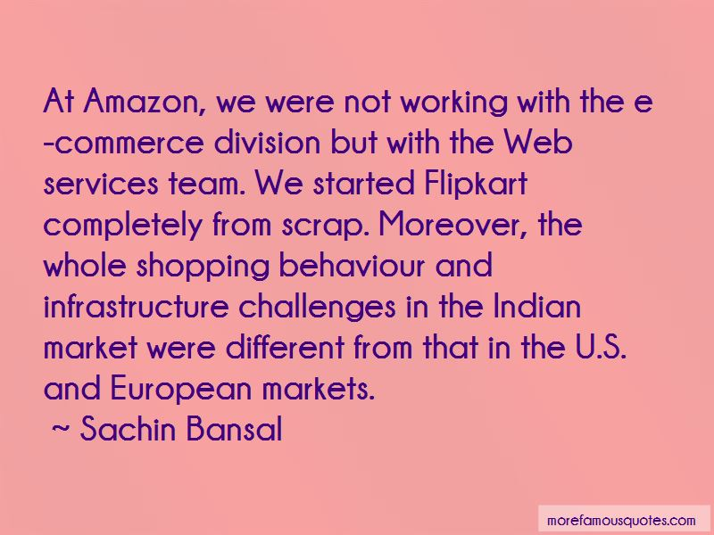 Sachin Bansal Quotes Pictures 3