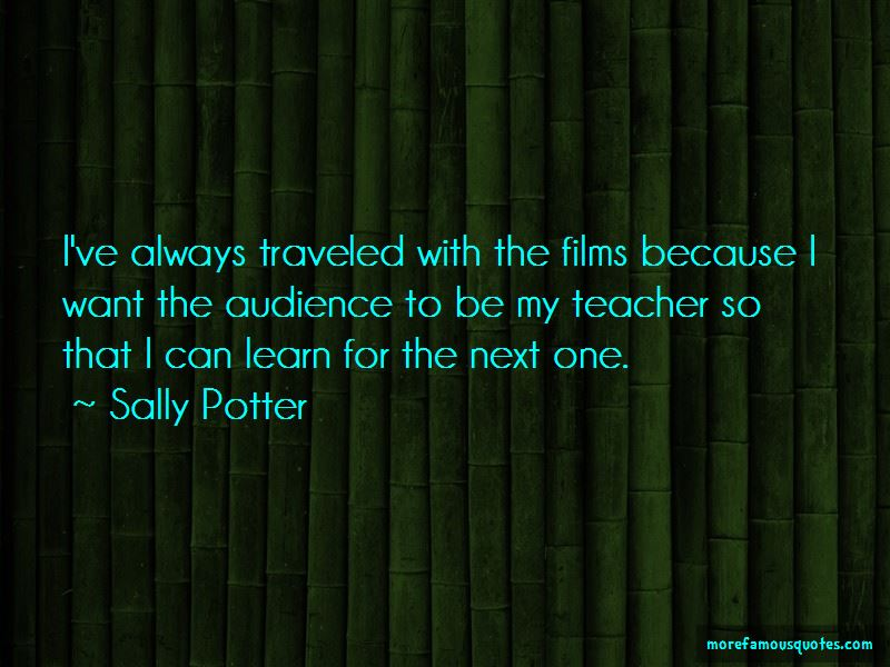 Sally Potter Quotes Pictures 3