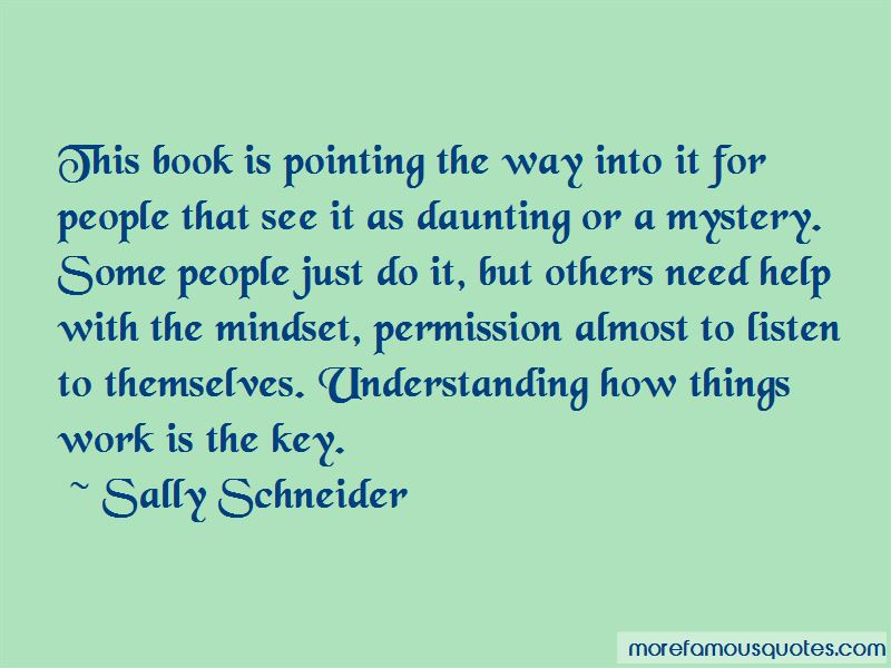 Sally Schneider Quotes Pictures 4