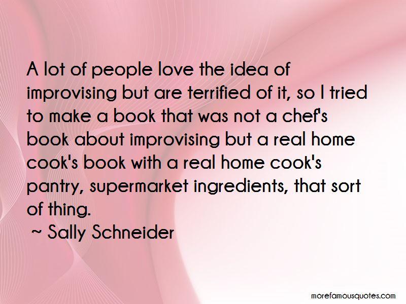 Sally Schneider Quotes