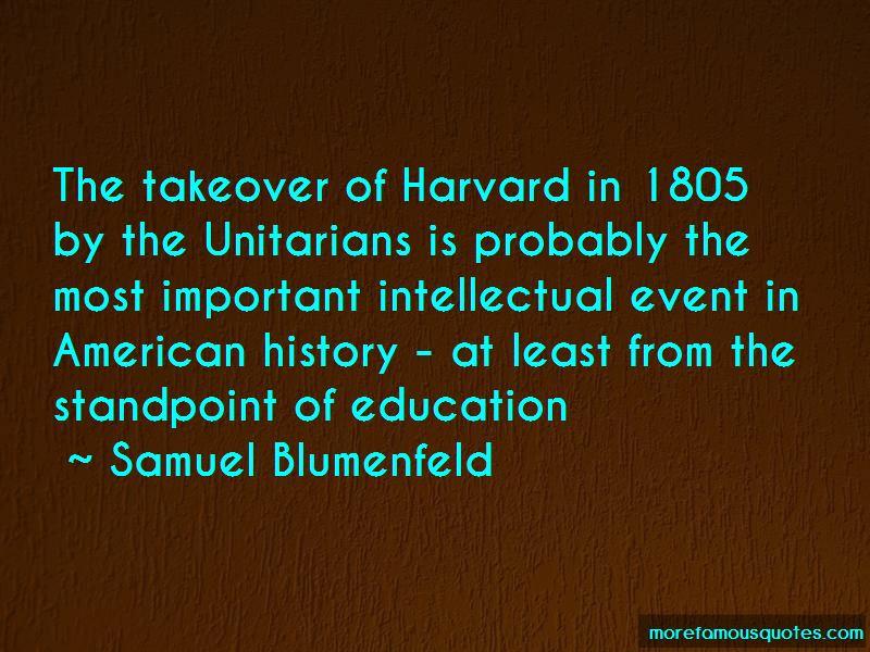 Samuel Blumenfeld Quotes Pictures 2