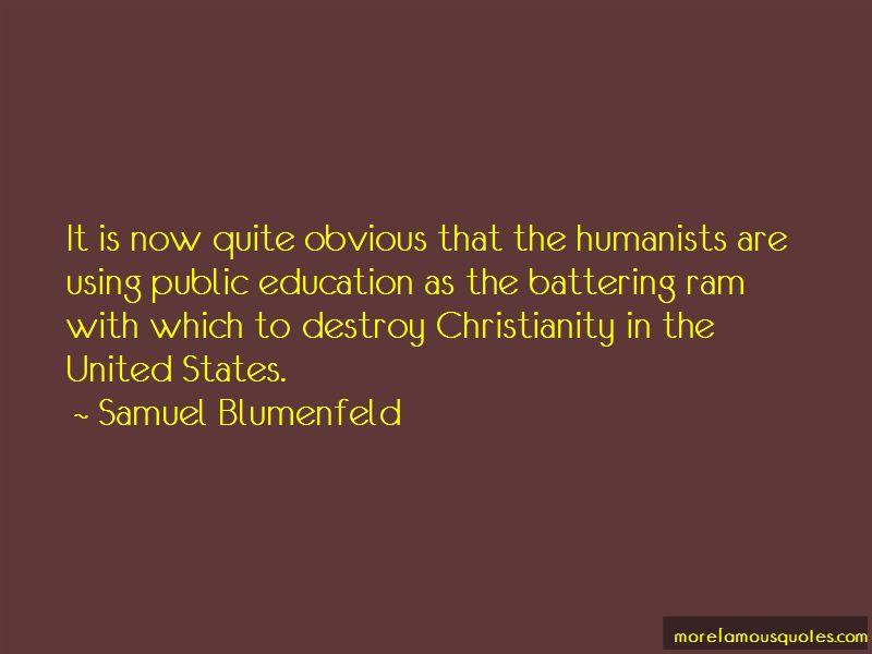 Samuel Blumenfeld Quotes Pictures 4