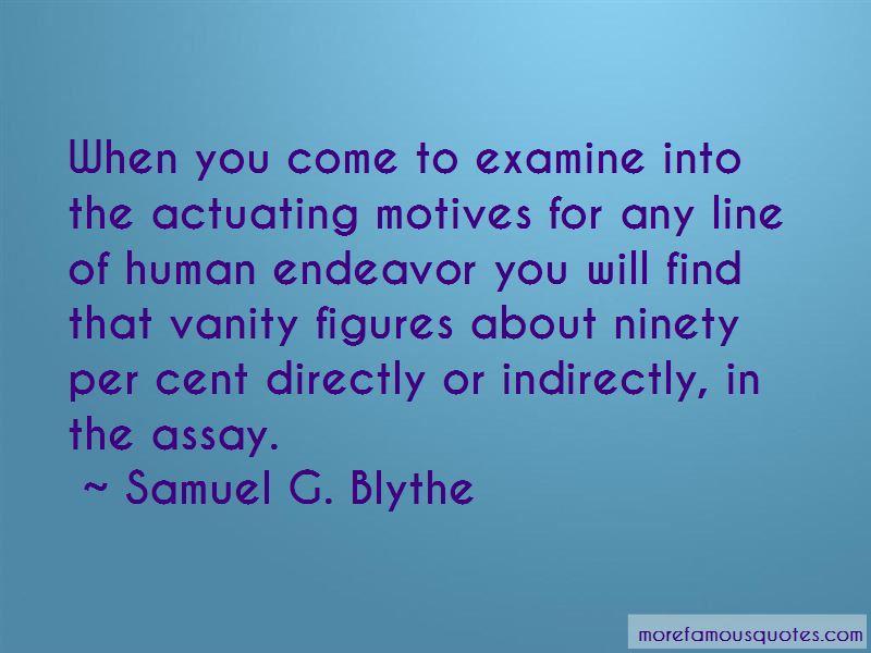 Samuel G. Blythe Quotes
