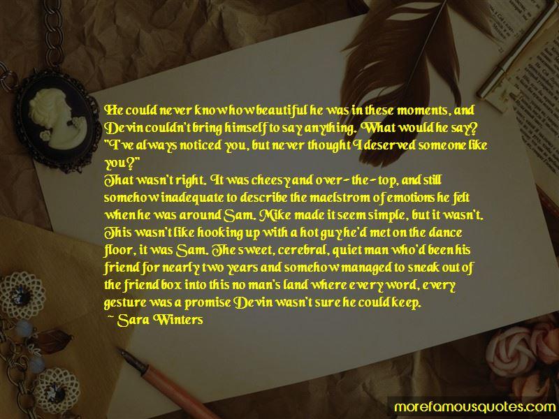 Sara Winters Quotes Pictures 3
