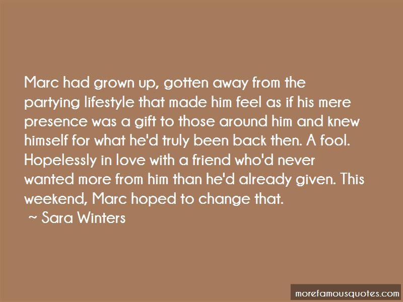 Sara Winters Quotes Pictures 4