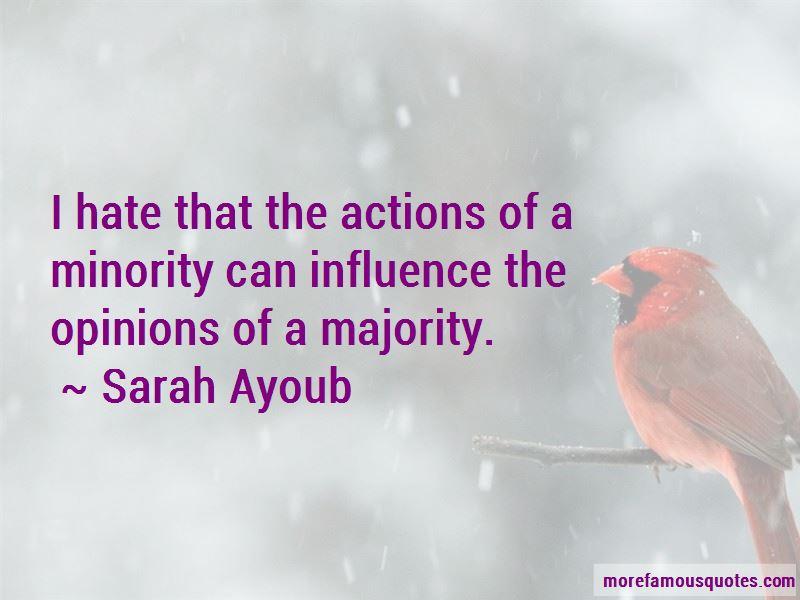 Sarah Ayoub Quotes