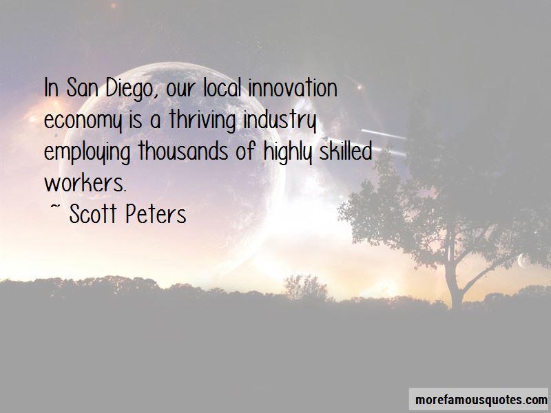 Scott Peters Quotes
