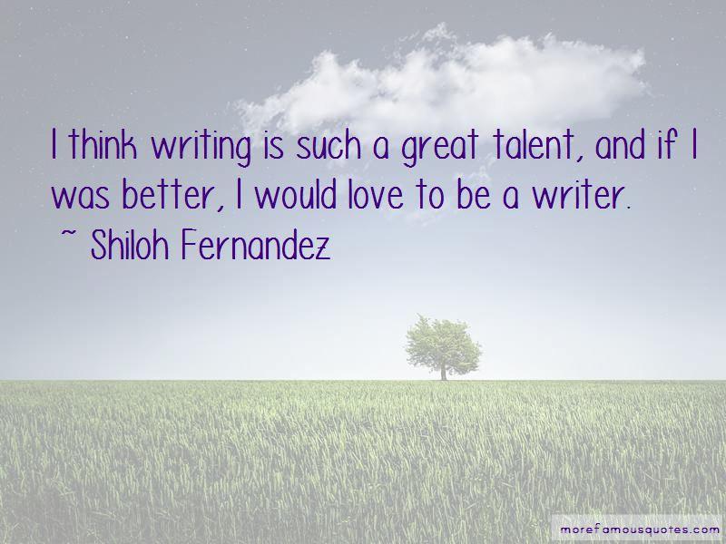 Shiloh Fernandez Quotes Pictures 2