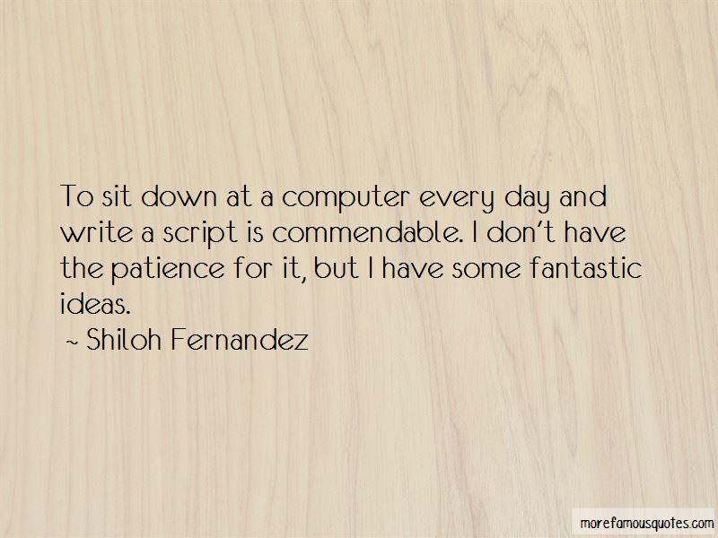 Shiloh Fernandez Quotes Pictures 3