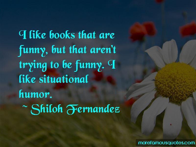 Shiloh Fernandez Quotes