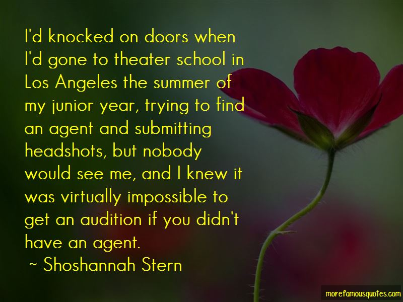 Shoshannah Stern Quotes Pictures 2