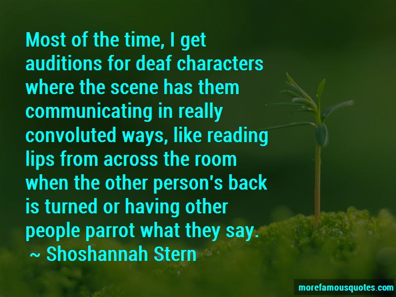 Shoshannah Stern Quotes Pictures 3