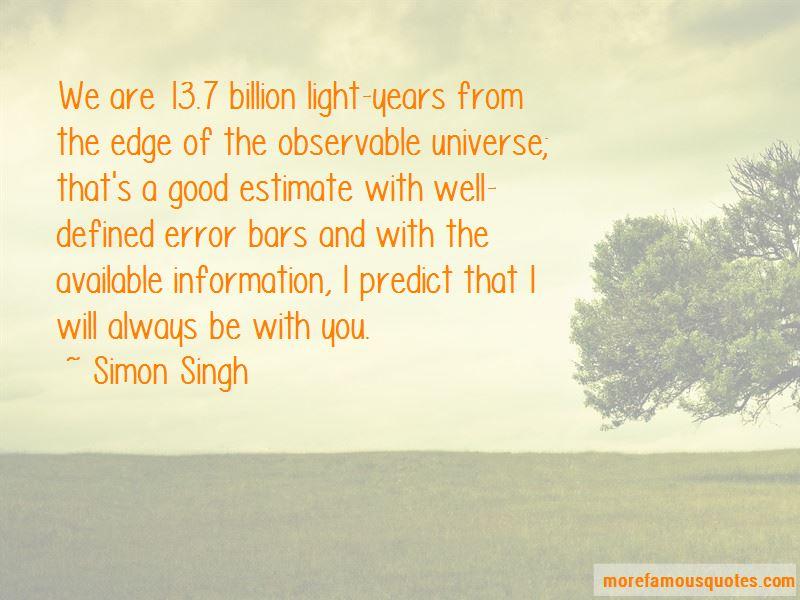 Simon Singh Quotes