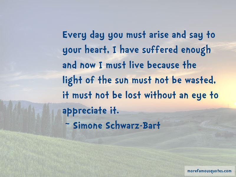 Simone Schwarz-Bart Quotes