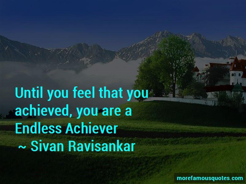 Sivan Ravisankar Quotes
