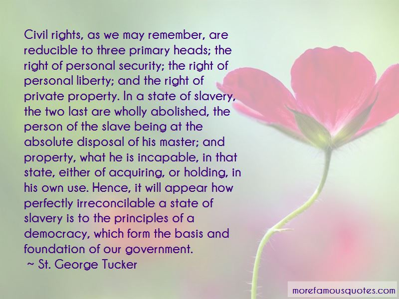 St. George Tucker Quotes Pictures 2