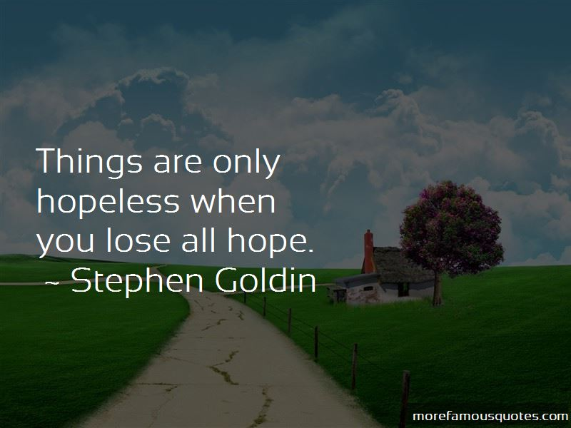 Stephen Goldin Quotes