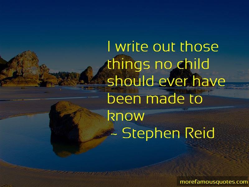Stephen Reid Quotes Pictures 2