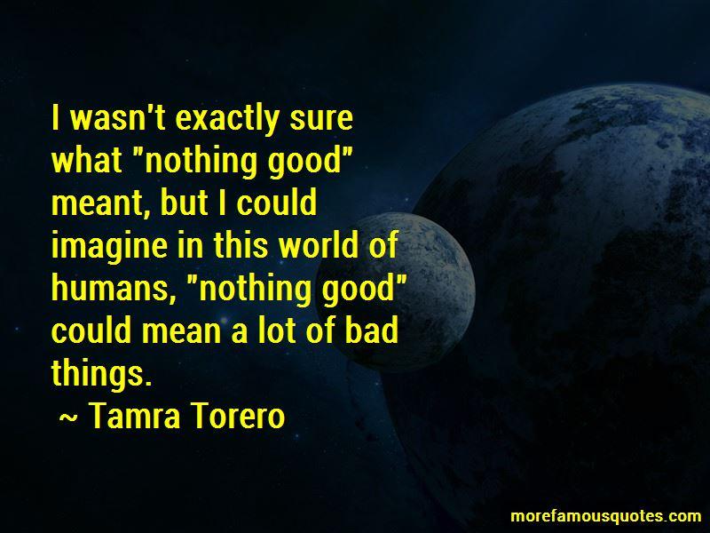 Tamra Torero Quotes