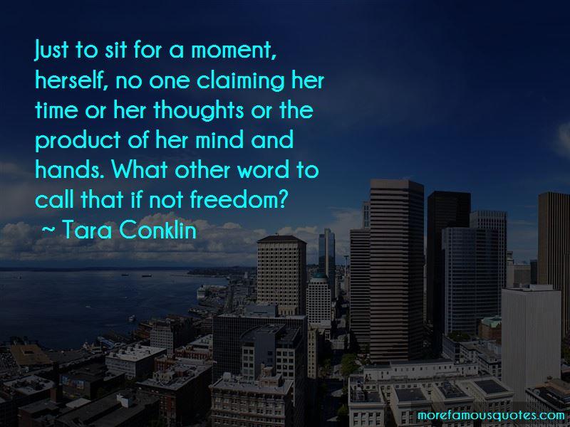 Tara Conklin Quotes