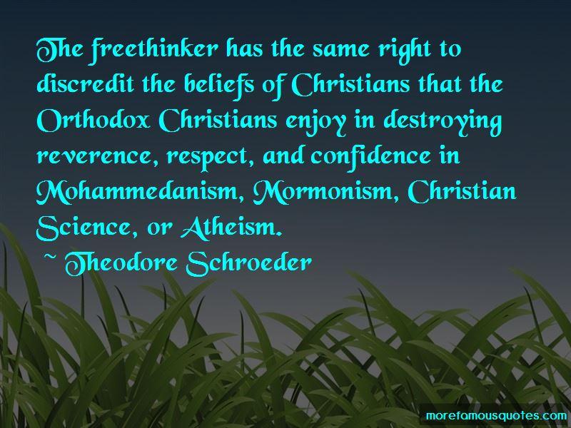 Theodore Schroeder Quotes Pictures 3