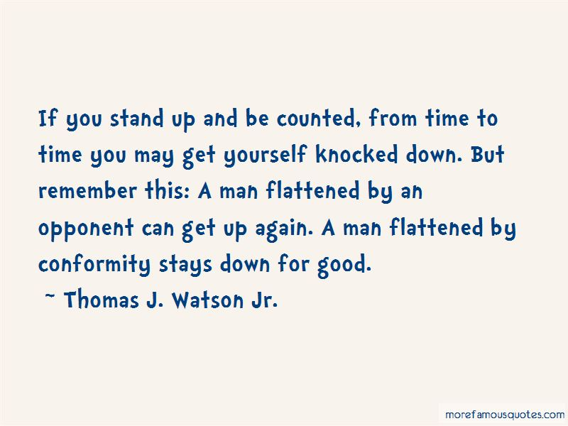Thomas J. Watson Jr. Quotes Pictures 2