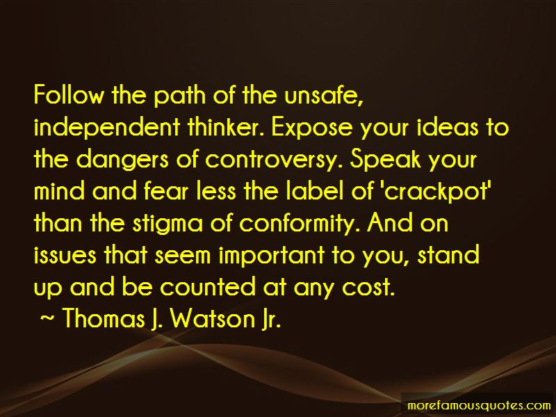 Thomas J. Watson Jr. Quotes