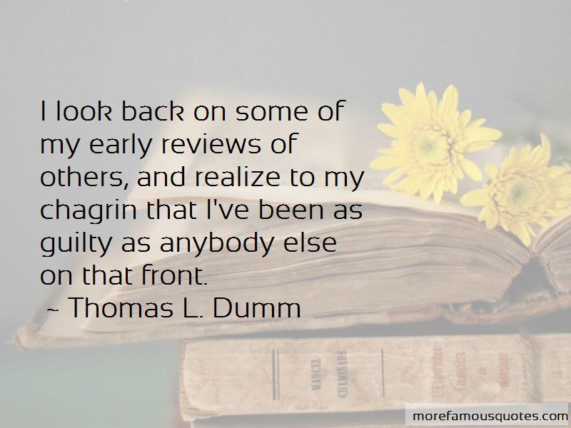 Thomas L. Dumm Quotes