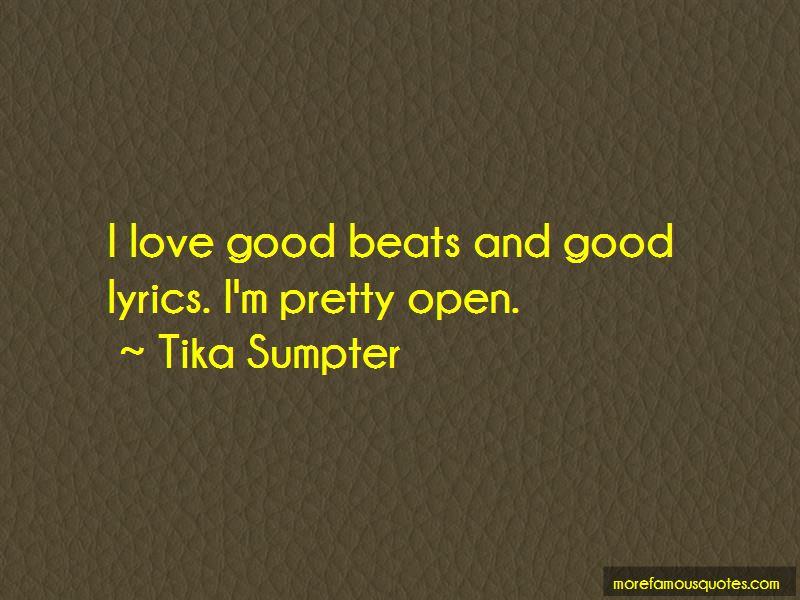 Tika Sumpter Quotes