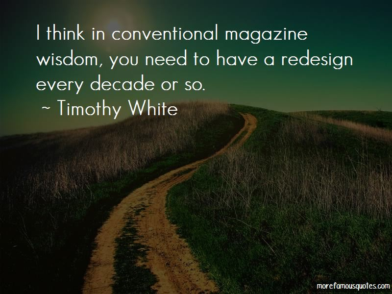 Timothy White Quotes Pictures 3