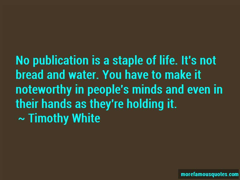 Timothy White Quotes Pictures 4