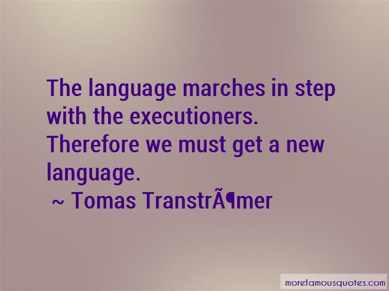 Tomas Gosta Transtromer Quotes Pictures 4