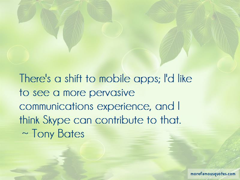 Tony Bates Quotes Pictures 2
