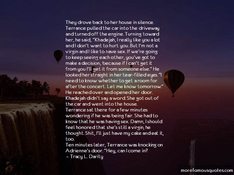 Tracy L. Darity Quotes Pictures 3