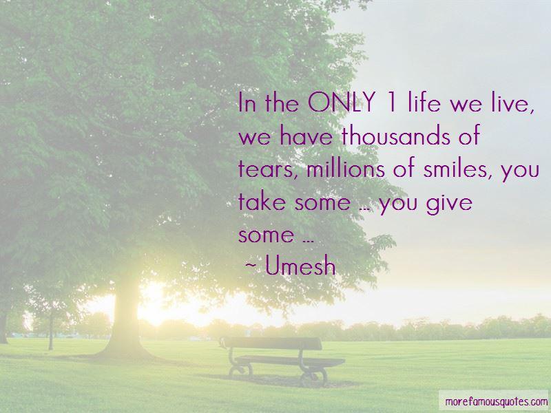 Umesh Quotes