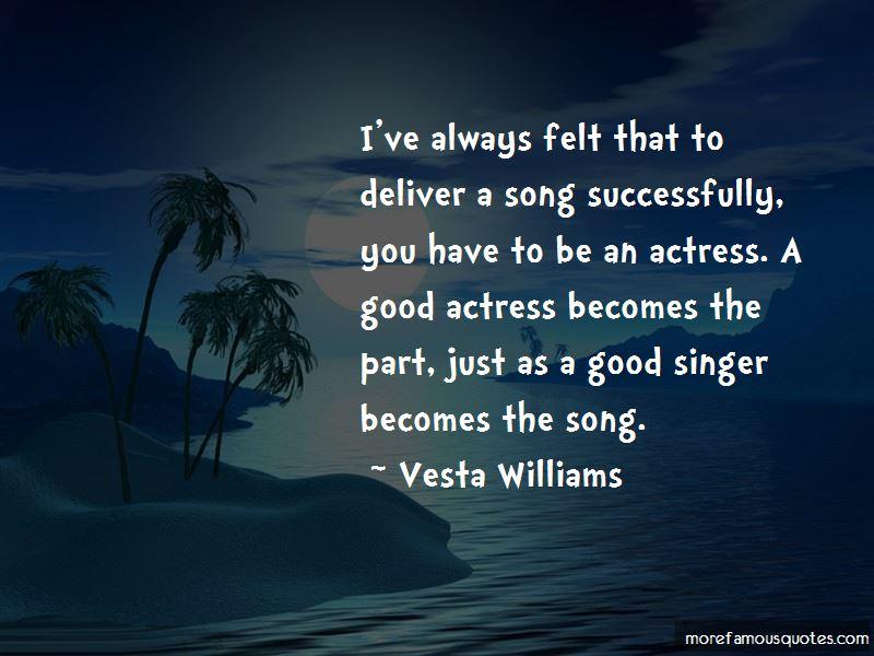Vesta Williams Quotes Pictures 2