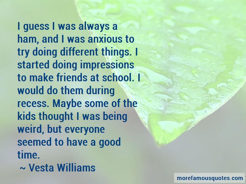 Vesta Williams Quotes Pictures 3