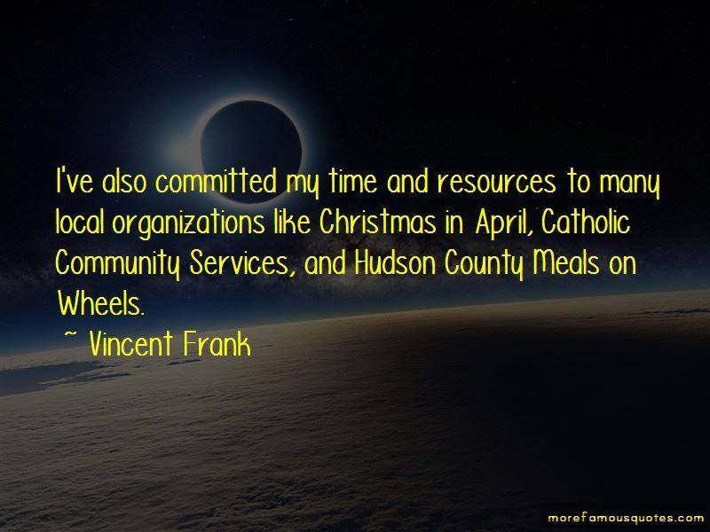Vincent Frank Quotes
