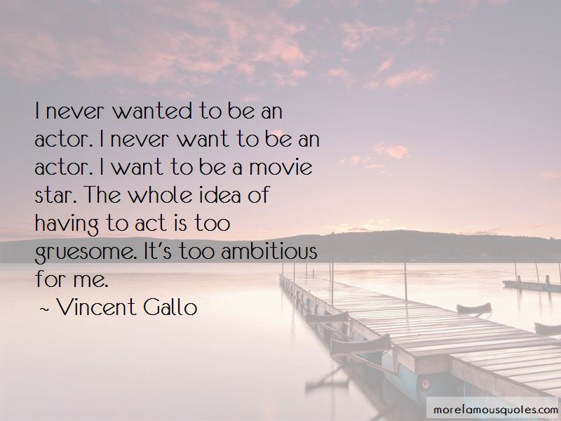 Vincent Gallo Quotes Pictures 2