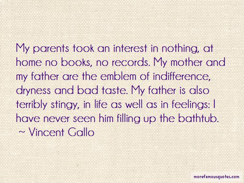 Vincent Gallo Quotes