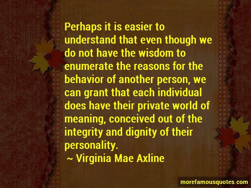 Virginia Mae Axline Quotes Pictures 2