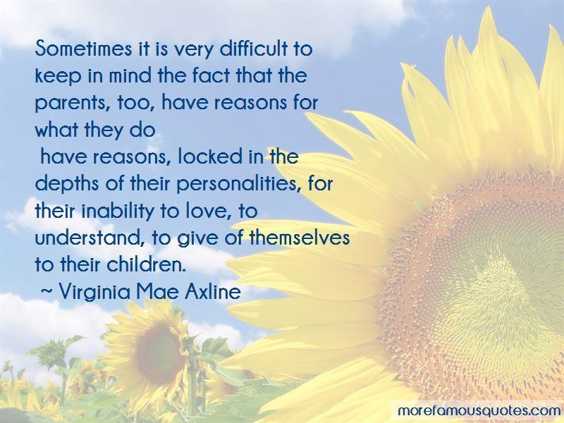Virginia Mae Axline Quotes Pictures 3