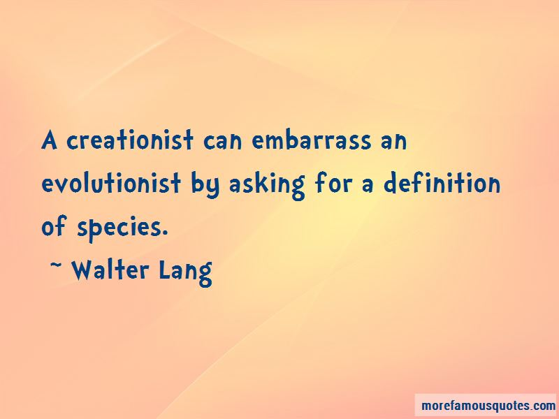 Walter Lang Quotes Pictures 2