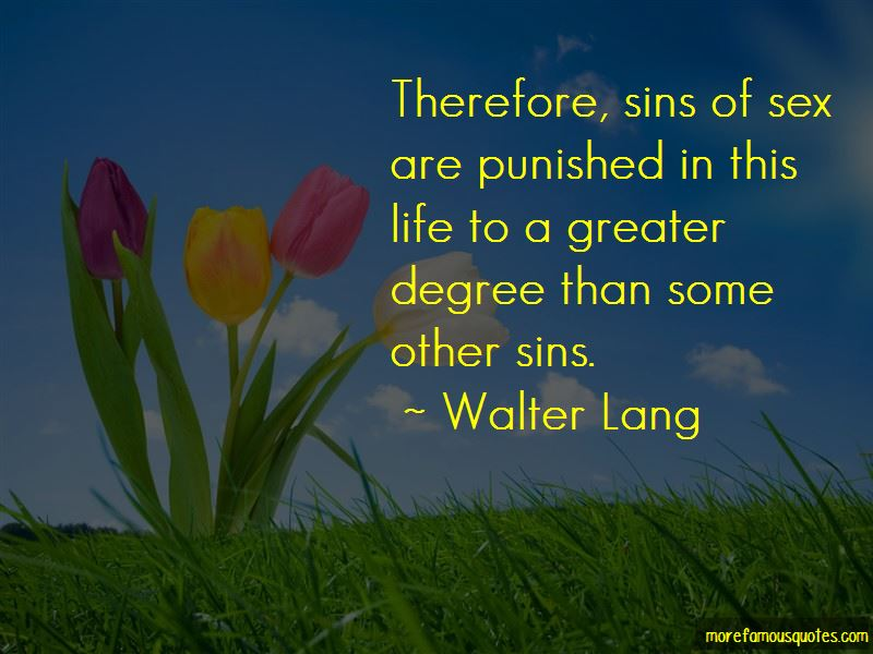 Walter Lang Quotes Pictures 3
