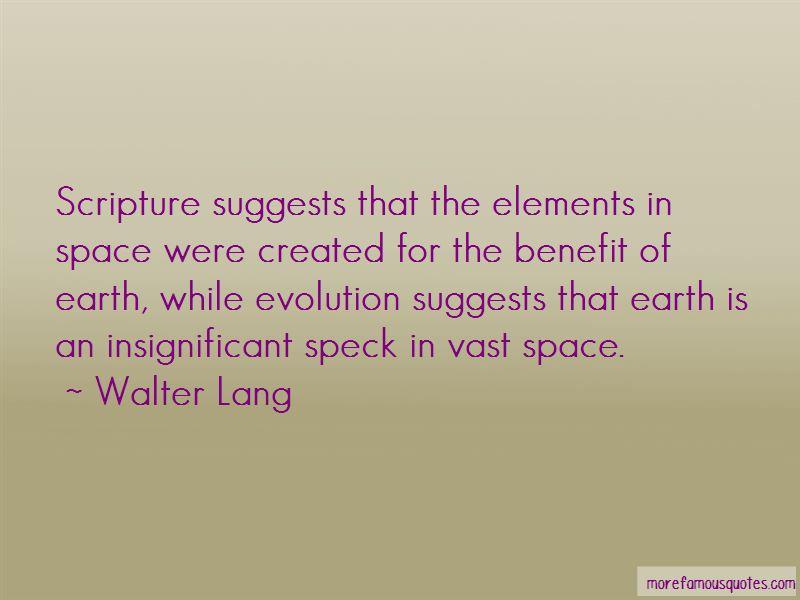 Walter Lang Quotes