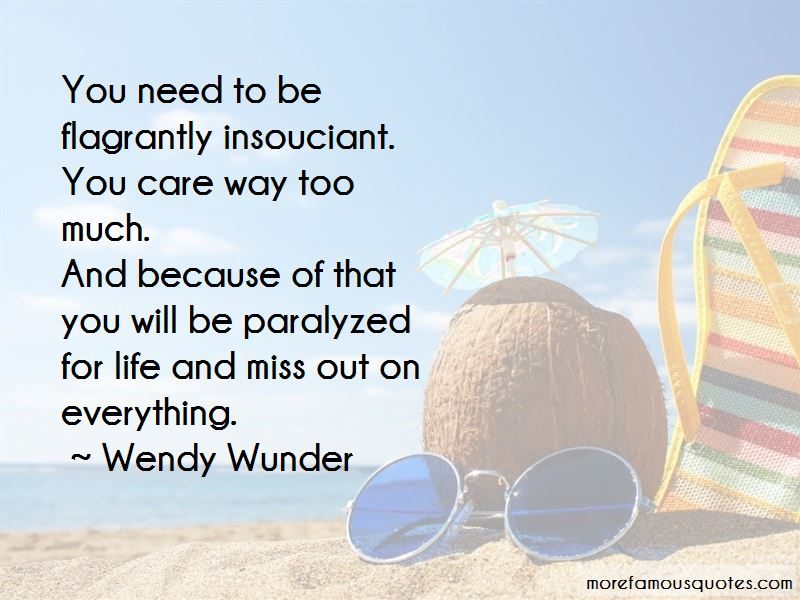 Wendy Wunder Quotes Pictures 2
