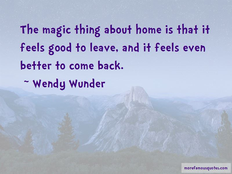 Wendy Wunder Quotes Pictures 3