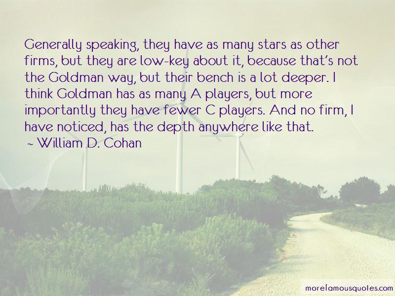 William D. Cohan Quotes Pictures 4