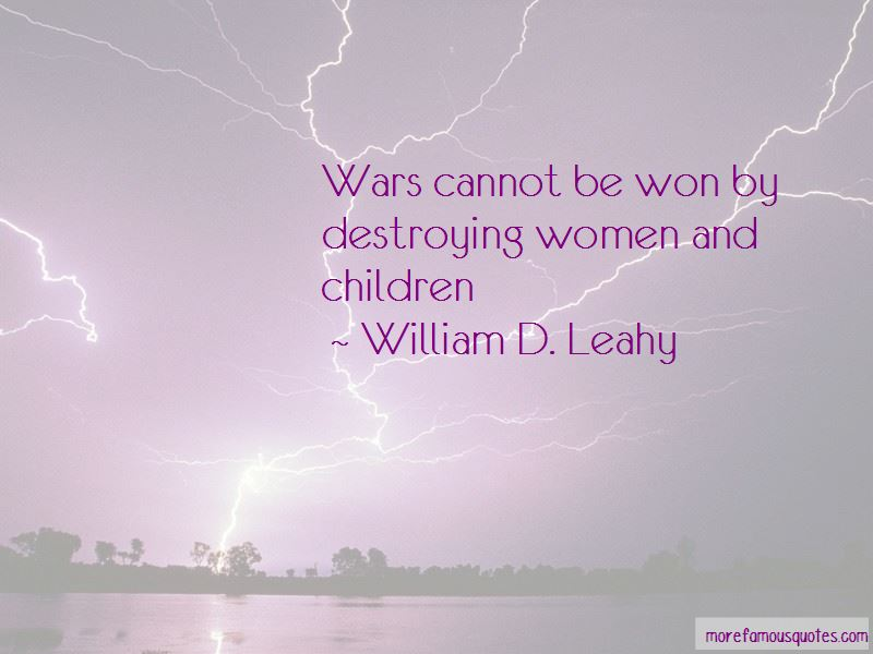 William D. Leahy Quotes Pictures 2